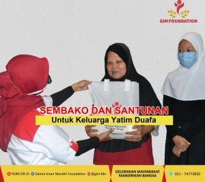 Bantuan Keluarga Yatim Dan Dhuafa