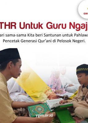Sedekah Guru Ngaji Seluruh Nusantara