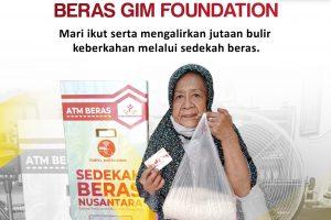 Wakaf Mesin ATM Beras GIM Foundation